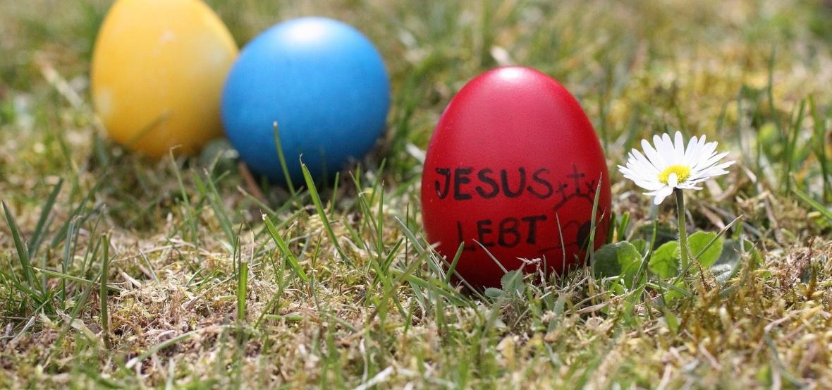 Eier suchen und Jesus finden